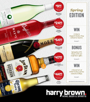 harry brown in brisbane catalogues and specials