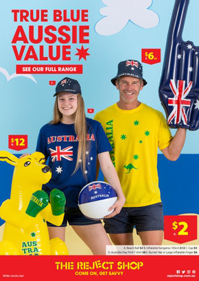 The Reject Shop deals