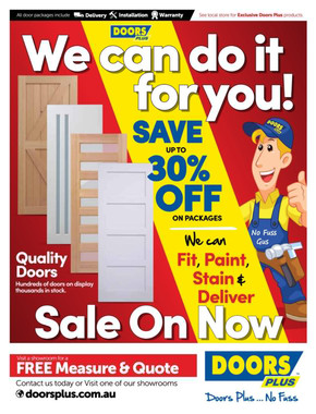 Doors Plus deals