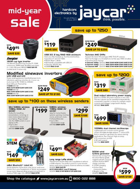 Jaycar Electronics deals
