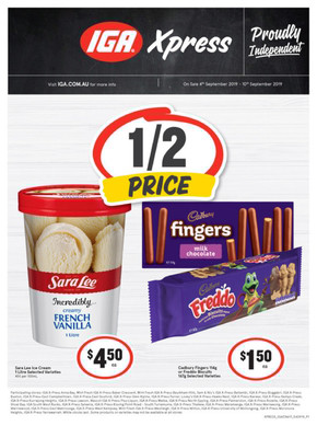 Groceries catalogues and specials near by