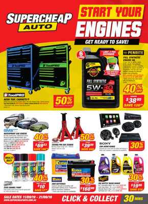 Supercheap Auto deals