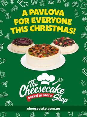 The Cheesecake Shop deals