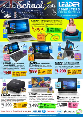 Leader Computers deals