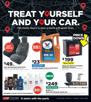 Repco deals