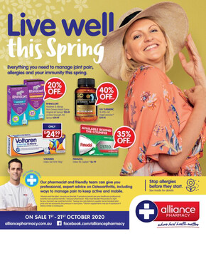 Alliance Pharmacy deals