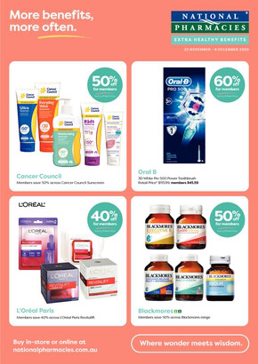 National Pharmacies deals