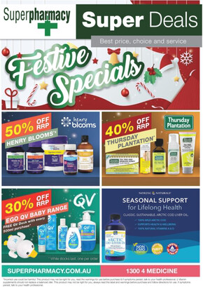 Superpharmacy deals
