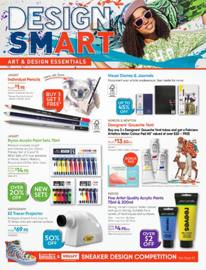 Eckersley's Art & Craft deals