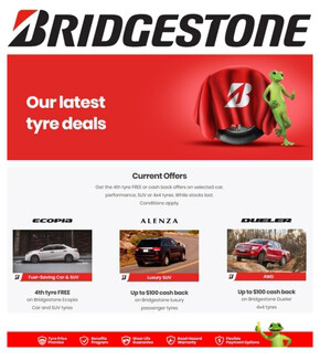 Bridgestone deals