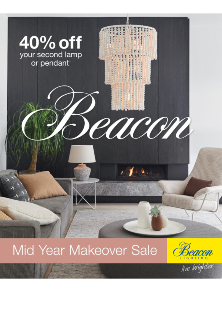 beacon lighting in maitland catalogues and specials